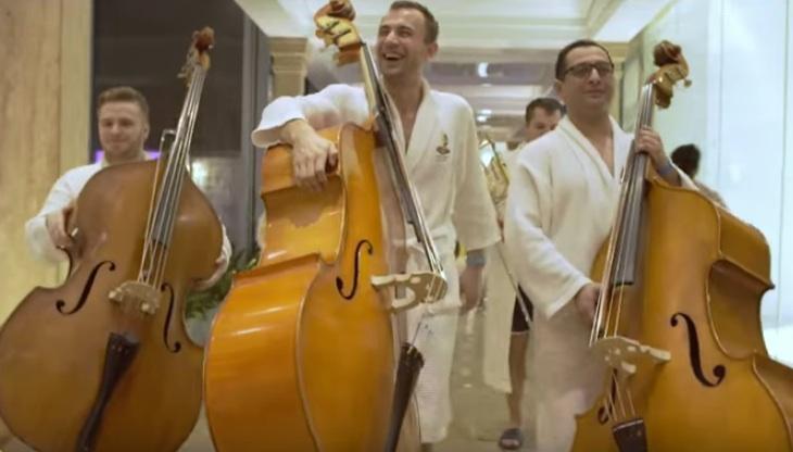 Bucharest Symphony Orchestra on vacation at Therme Bucuresti