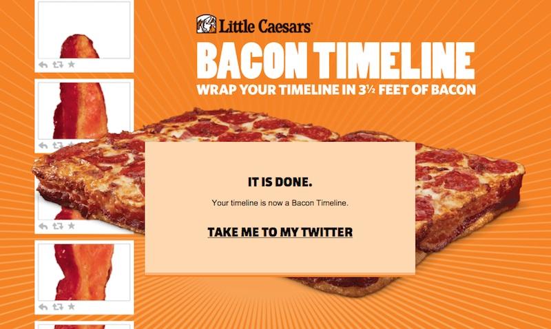 Bacon Timeline