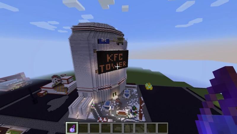 KFC Minecraft Case