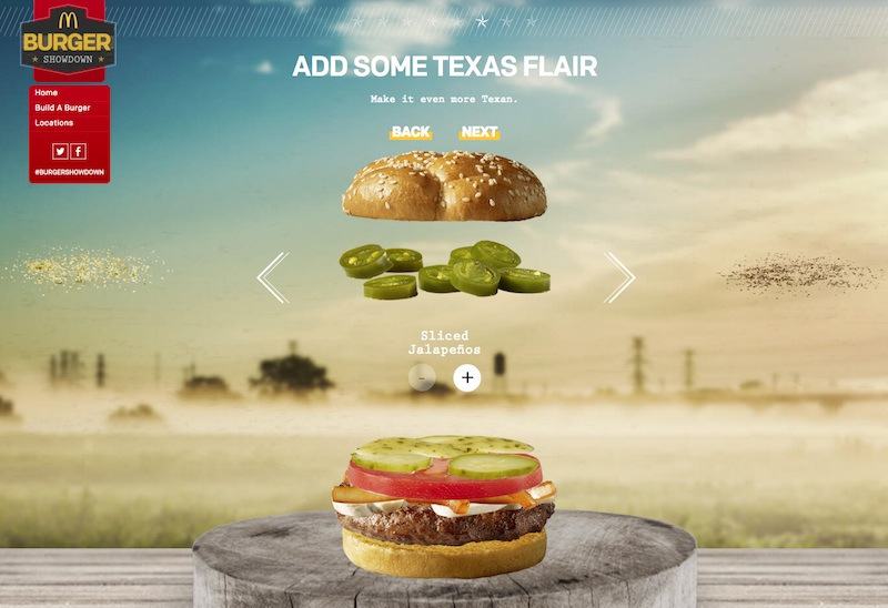 McDonald's BURGER SHOWDOWN