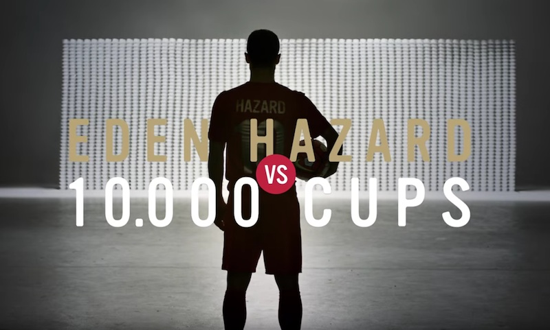 Eden Hazard vs. 10.000 cups