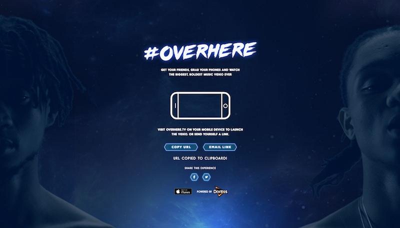 #OVERHERE