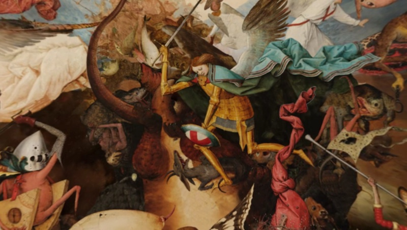 Bruegel: a fall with the Rebel Angels