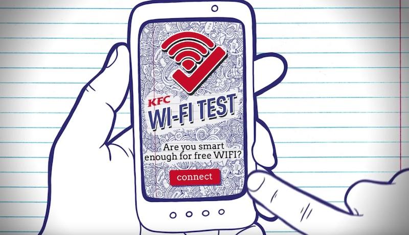 KFC WiFi Test