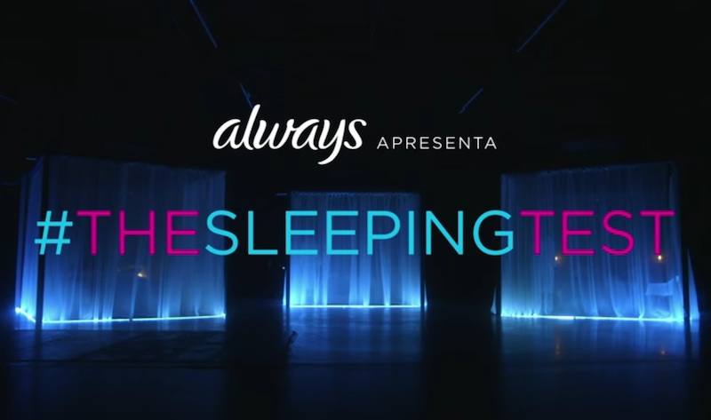 Always apresenta: #TheSleepingTest