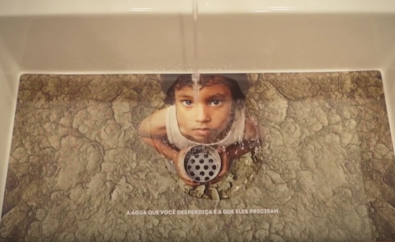 Colgate Save Water - Ativação Marriot
