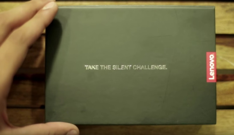 The ThinkPad Silent Challenge