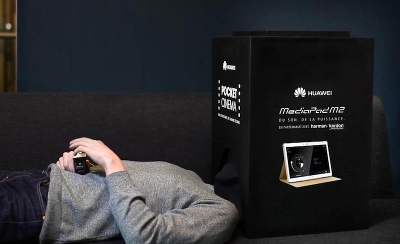 HUAWEI & le MEDIAPAD M2 présentent Le Pocket Cinema