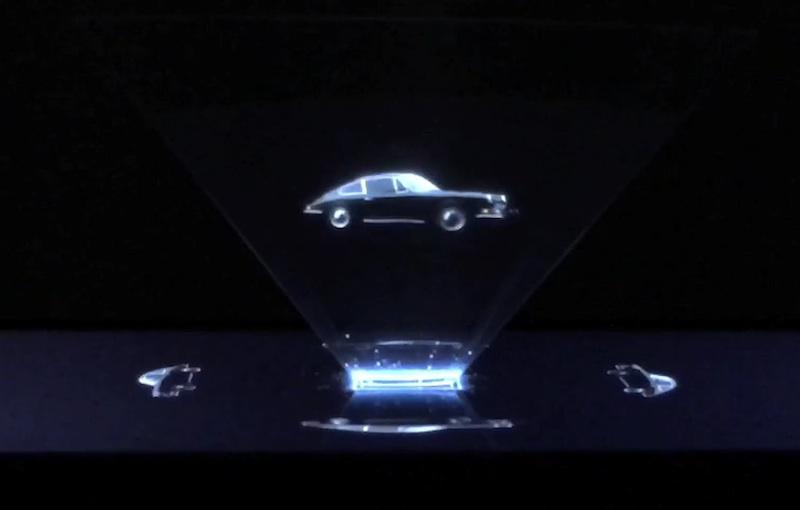Porsche Hologram