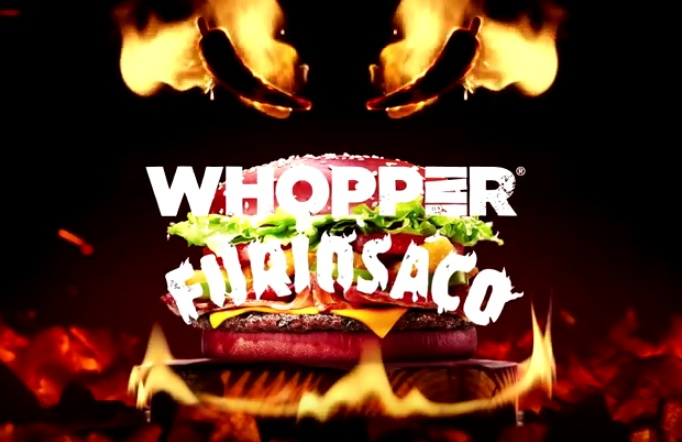 Burger King | O Whopper mais Furioso de todos