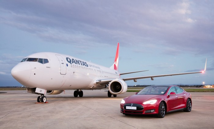 Qantas vs Tesla