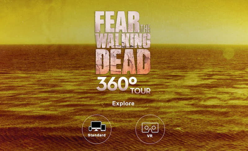 Fear the Walking Dead 360 Tour