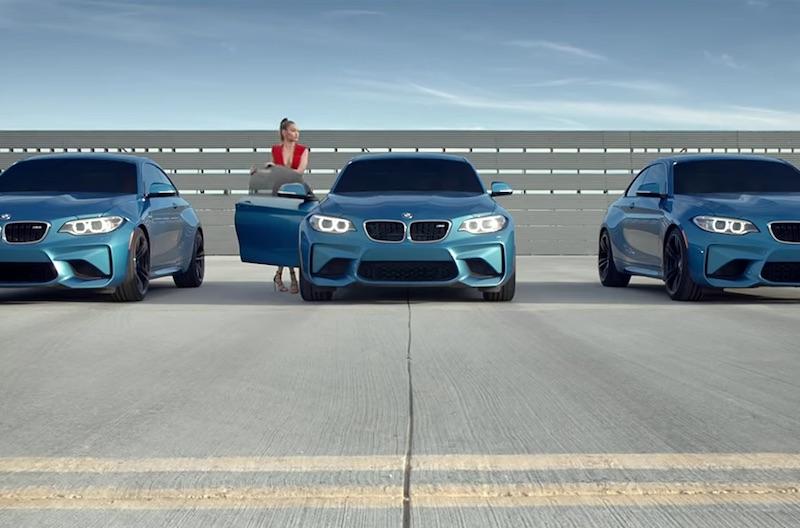THE BMW M2 – EYES ON GIGI HADID