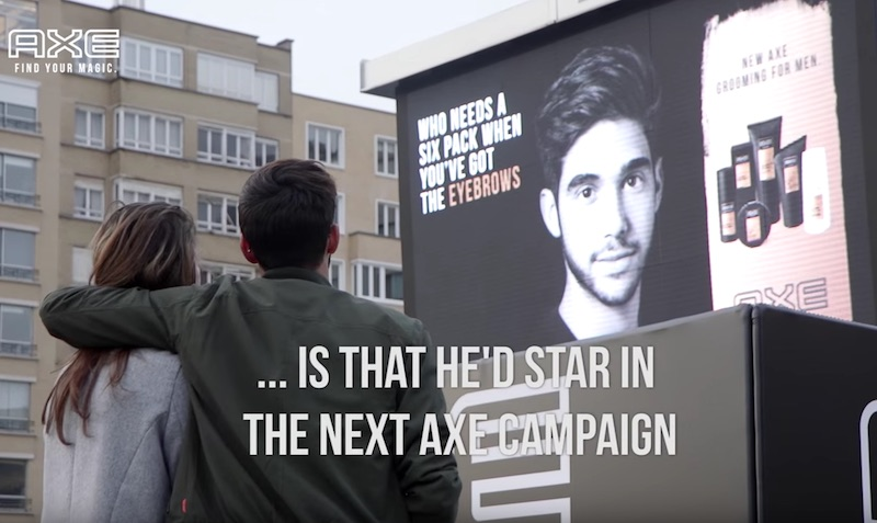AXE - Find Your Magic at Brussels