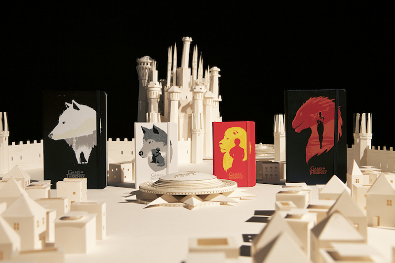Paper Epicness. Moleskine & Game of Thrones