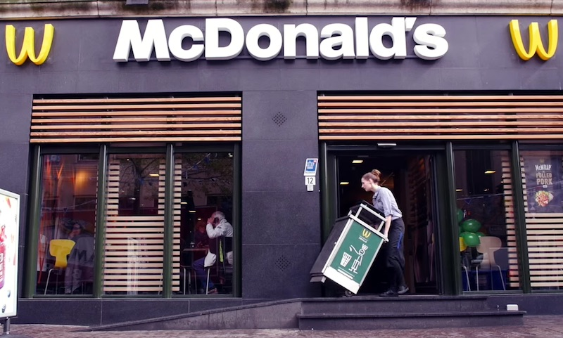 McDonald's - Inhaker Koningsdag 2016