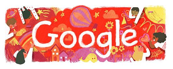 Google こどもの日 2016 記念ロゴに!