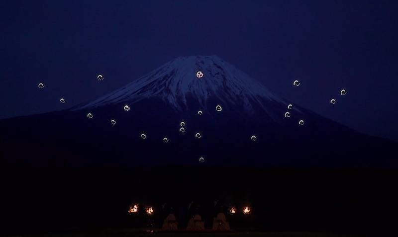 Sky Magic Live at Mt.Fuji : Drone Ballet Show