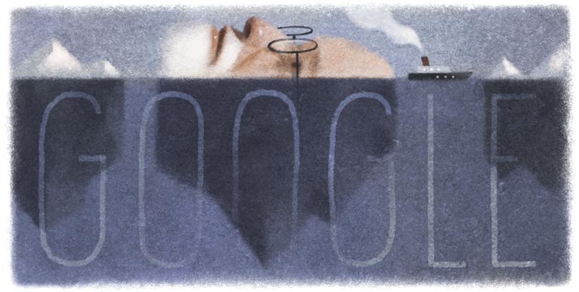 Google ジークムント・フロイト生誕160周年記念ロゴに!