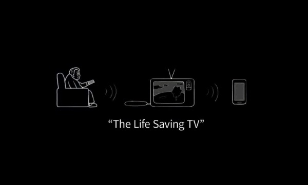 Korea Telecom Life Saving TV