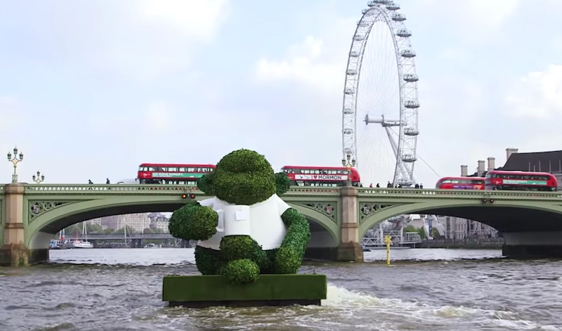 Green Tea Monkey On The Thames