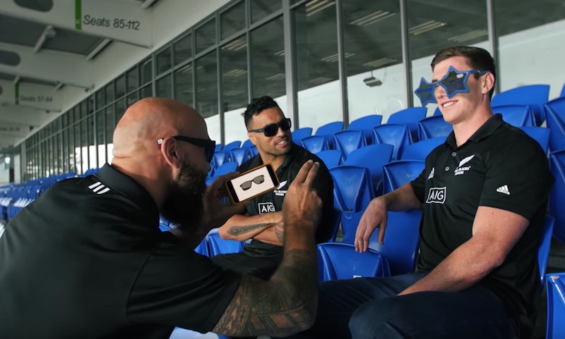 ASB with Zach King & the All Blacks Sevens