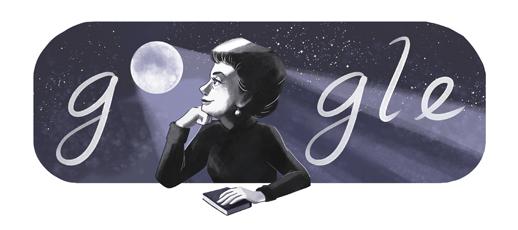 Google メキシコ出身の詩人ロサリオ・カステリャノス生誕91周年記念ロゴに!