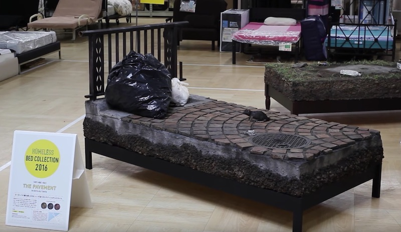HOMELESS BED COLLECTION