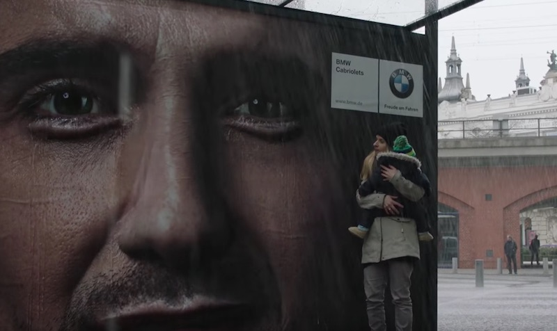 BMW CryingBillboard