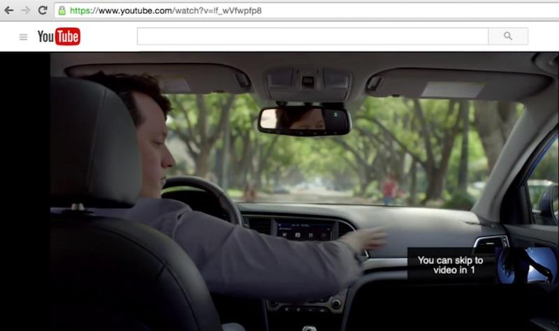 Hyundai Elantra YouTube Skip Ad