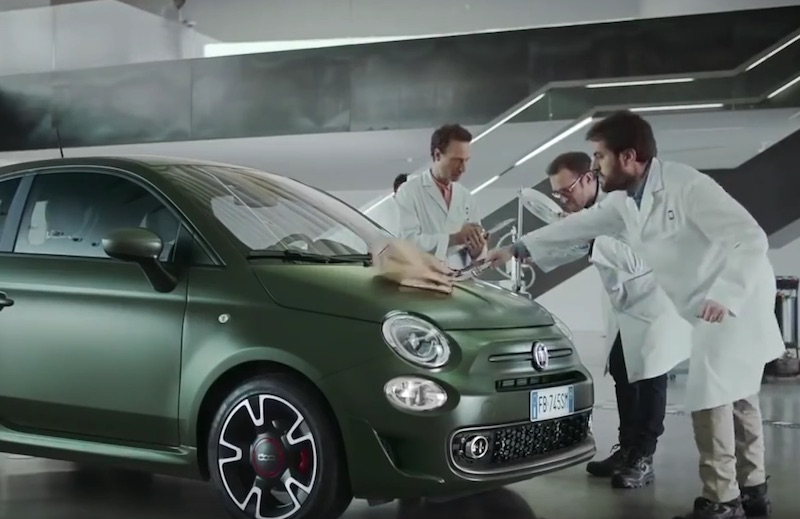 Nuova Fiat 500s - What bad boyS drive