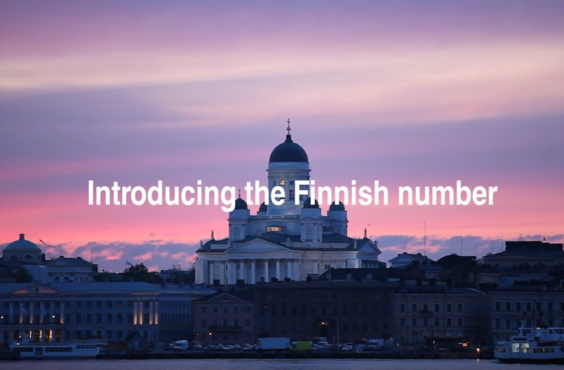 The Finnish Number