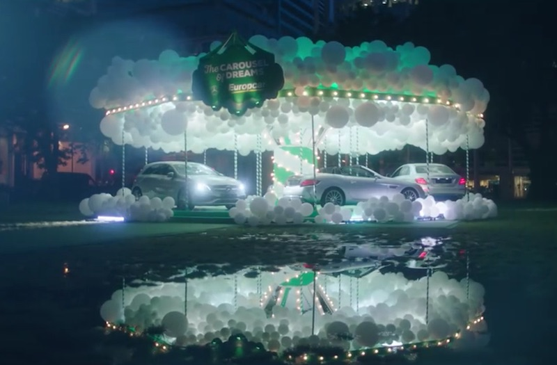 Europcar et Mercedes-Benz - The Carousel of Dreams