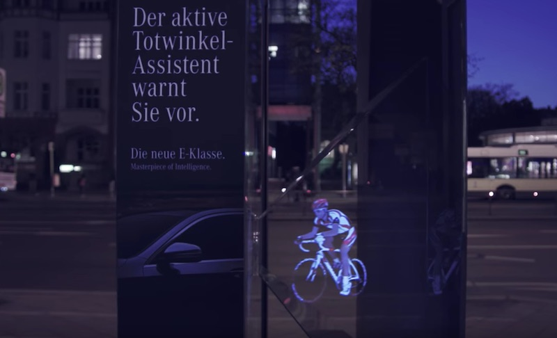 Mercedez-Benz creates outdoor hologram campaign