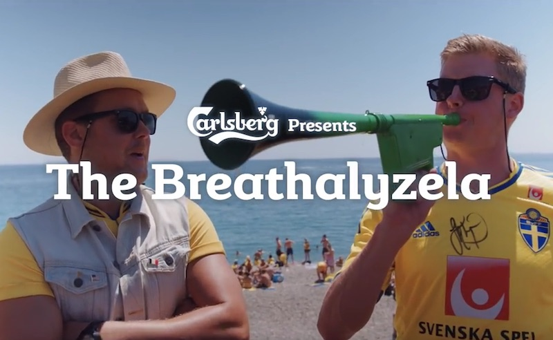 The Carlsberg Breathalyzela