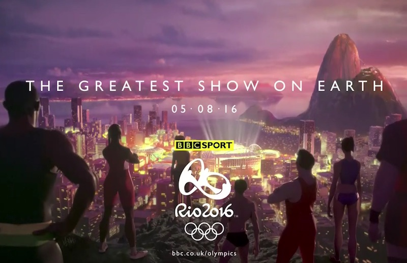 Olympics 2016 on the BBC - The Greatest Show on Earth