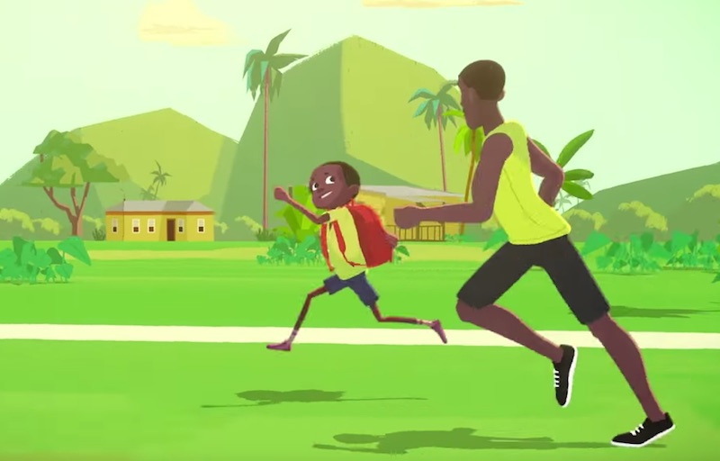 IThe Boy Who Learned to Fly | Usain Bolt