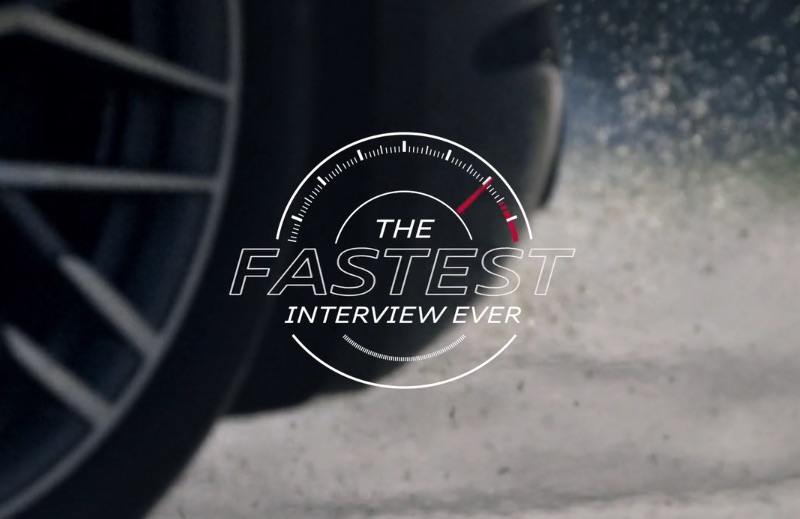 Audi Sport. The Fastest Interview Ever.