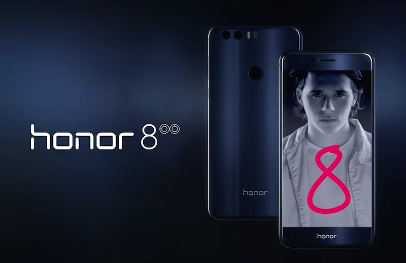 Honor 8 is here with Brooklyn Beckham