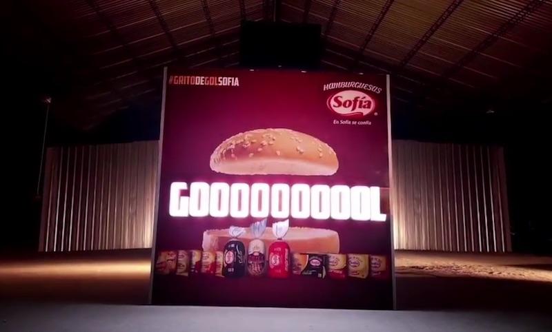 Goal Shout Sofía