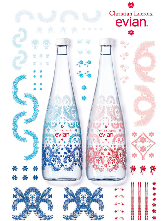 evian x Christian Lacroix Celebrating endless creativity