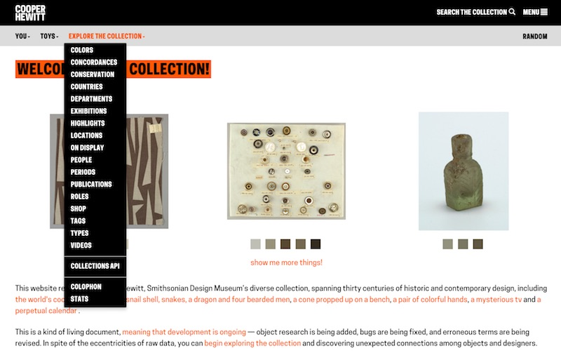 The Collection   Collection of Cooper Hewitt, Smithsonian Design Museum