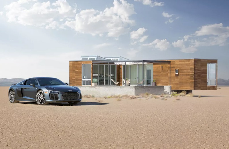 The home of the Audi R8