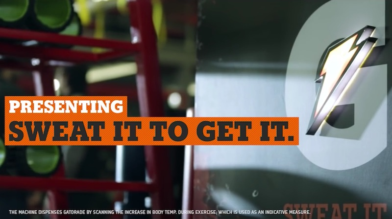 Gatorade | Sweat It To Get It