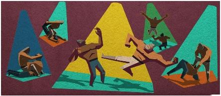 Google メキシコの伝説的プロレスラー、エル・サント(ロドルフォ・グスマン・ウエルタ)生誕99周年記念ロゴに!