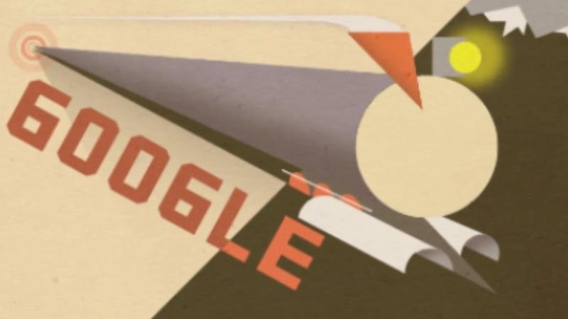 Google シベリア鉄道全線開通100周年記念アニメーションロゴに!
