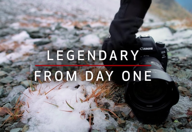 One Canon EOS 5D Mark IV. Four Photographers. 24 Hours to Legendary.