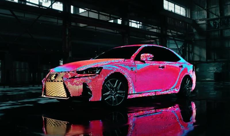 Signals The Lexus LIT IS Reveal
