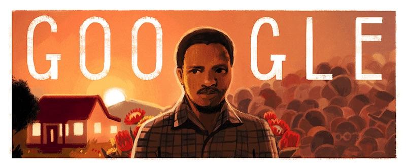 Google 黒人意識運動の活動家スティーヴ・ビコ生誕70周年記念ロゴに!