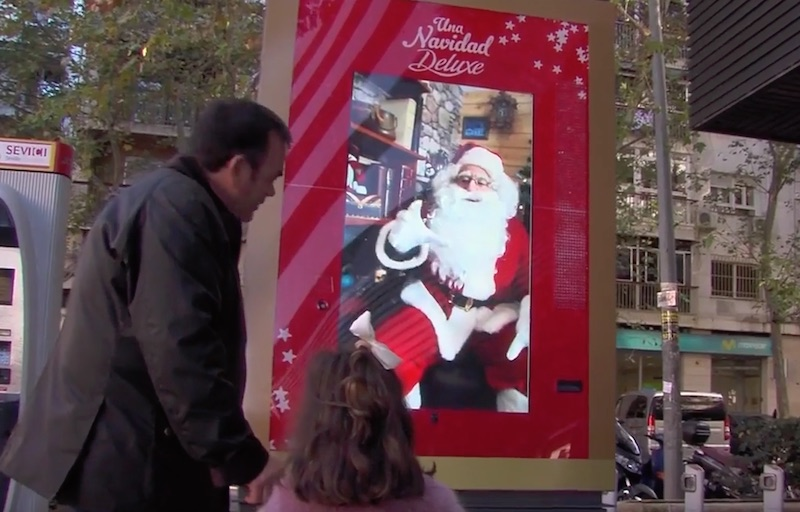 Santa Claus live stream campaign by LIDL